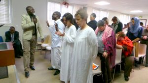Baptême de Thierno, Yvette et Nathalie